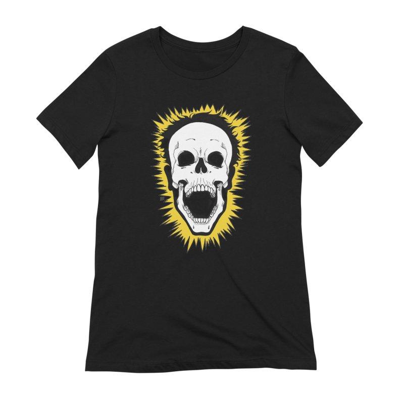 Jolt Women's Extra Soft T-Shirt by DEROSNEC's Art Shop