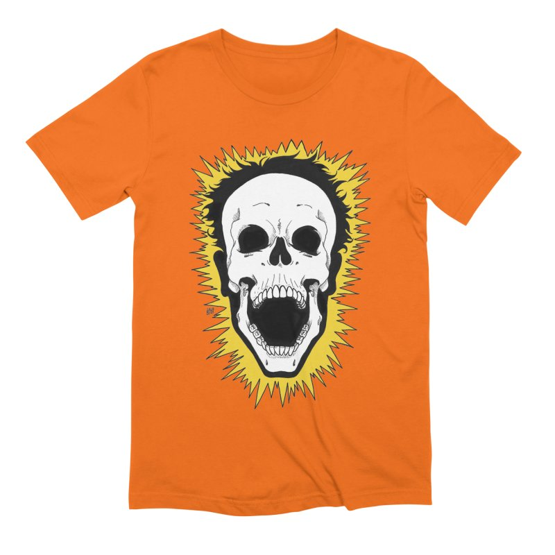 Jolt Men's Extra Soft T-Shirt by DEROSNEC's Art Shop
