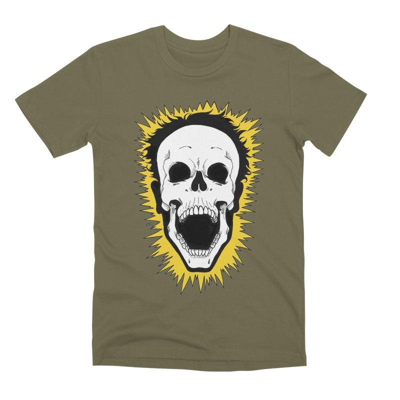 Jolt Men's Premium T-Shirt by DEROSNEC's Art Shop