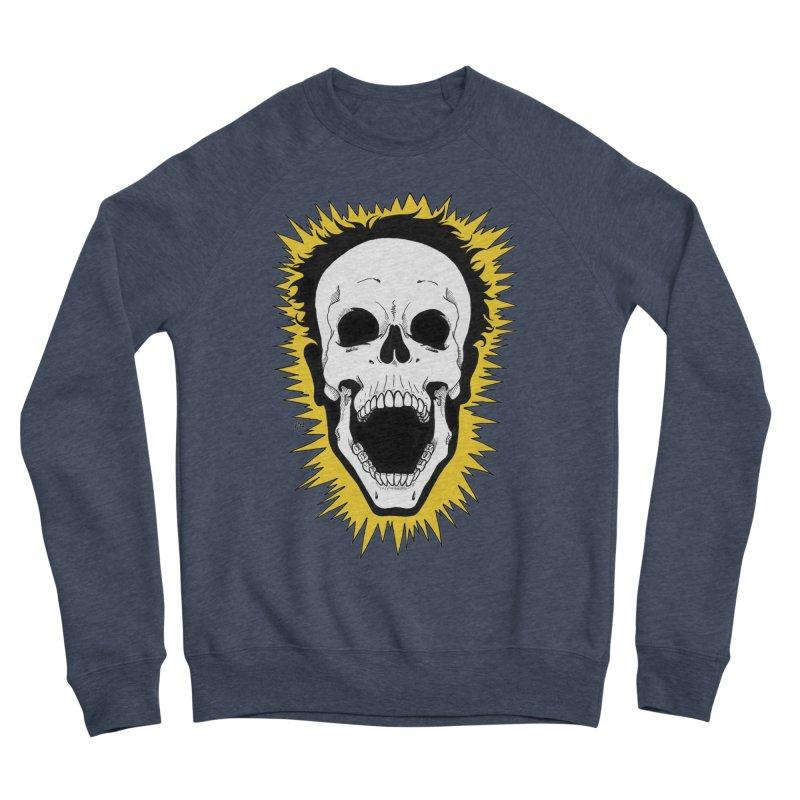 Jolt Men's Sponge Fleece Sweatshirt by DEROSNEC's Art Shop