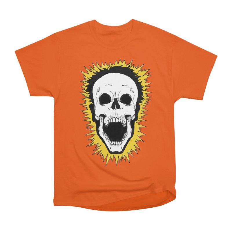 Jolt Men's Heavyweight T-Shirt by DEROSNEC's Art Shop