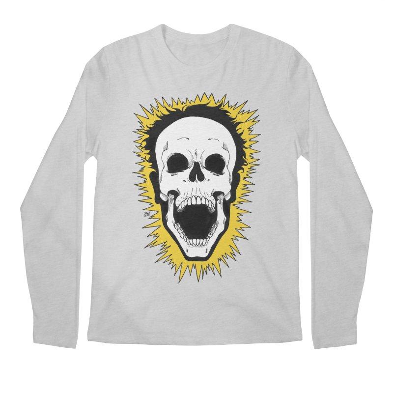 Jolt Men's Regular Longsleeve T-Shirt by DEROSNEC's Art Shop