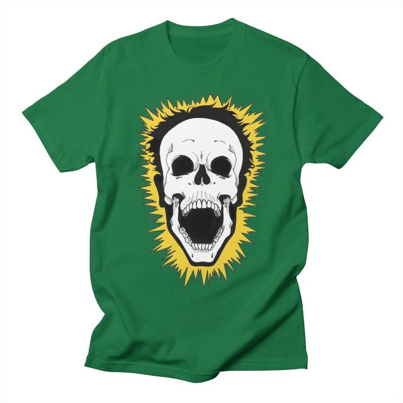 Jolt Men's Regular T-Shirt by DEROSNEC's Art Shop