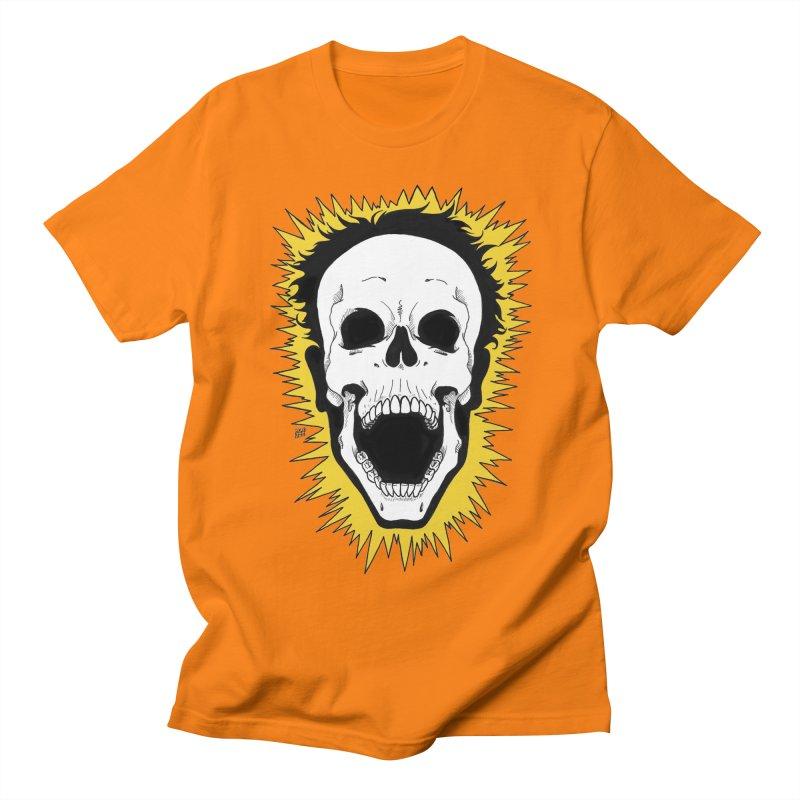 Jolt Women's Regular Unisex T-Shirt by DEROSNEC's Art Shop