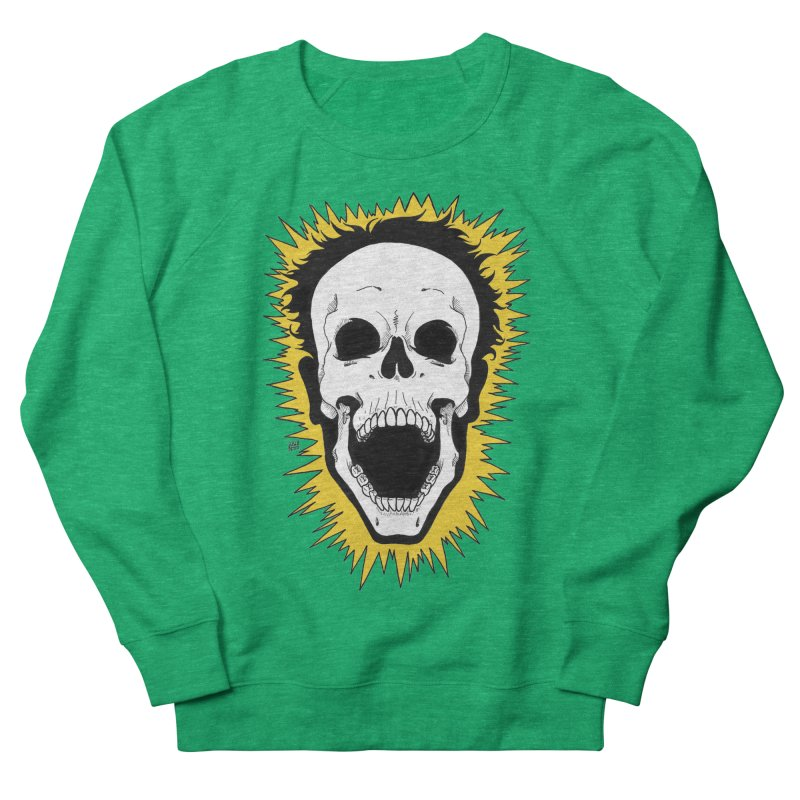 Jolt Women's French Terry Sweatshirt by DEROSNEC's Art Shop