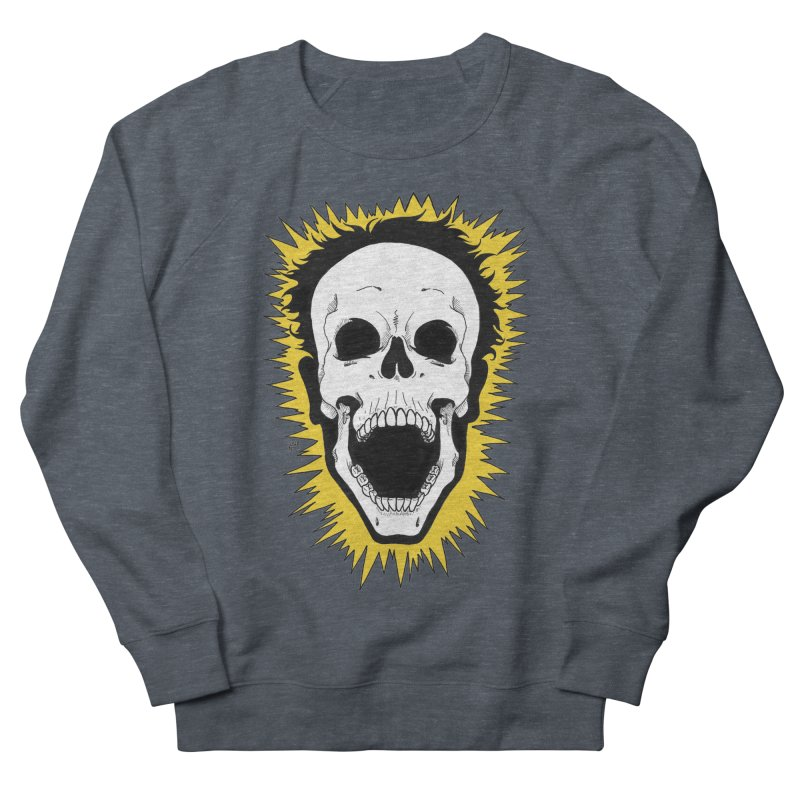 Jolt Men's French Terry Sweatshirt by DEROSNEC's Art Shop
