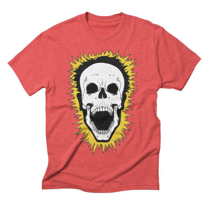 Jolt Men's Triblend T-Shirt by DEROSNEC's Art Shop