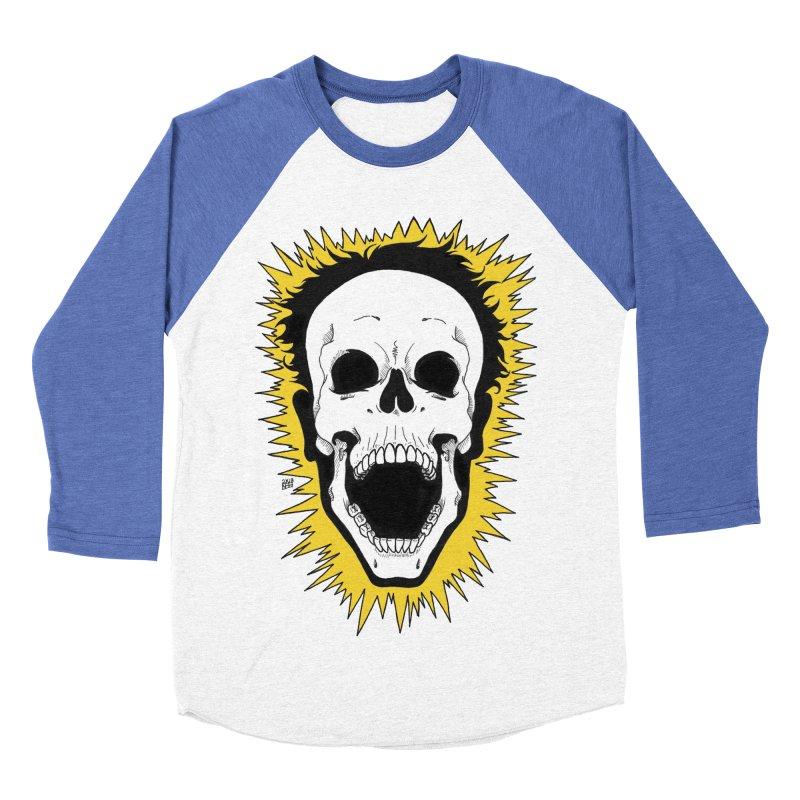 Jolt Women's Baseball Triblend Longsleeve T-Shirt by DEROSNEC's Art Shop