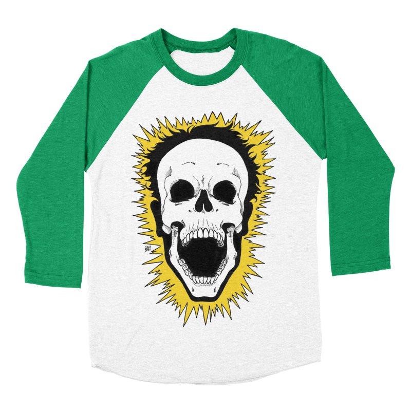 Jolt Men's Baseball Triblend Longsleeve T-Shirt by DEROSNEC's Art Shop