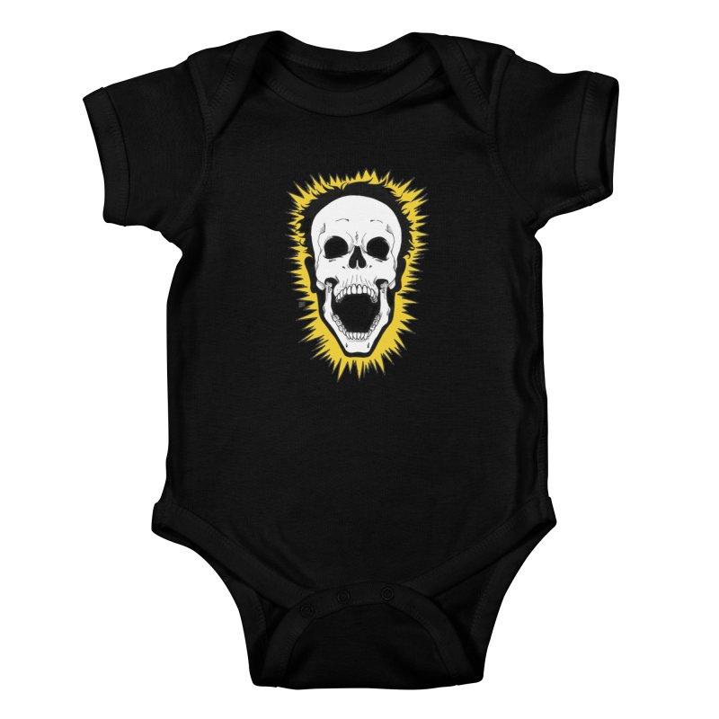 Jolt Kids Baby Bodysuit by DEROSNEC's Art Shop
