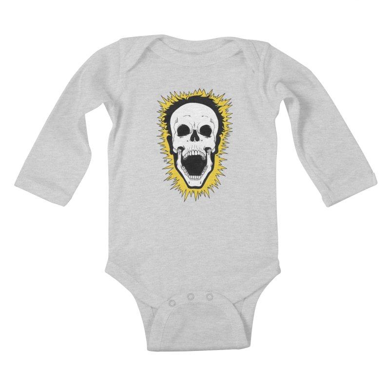 Jolt Kids Baby Longsleeve Bodysuit by DEROSNEC's Art Shop