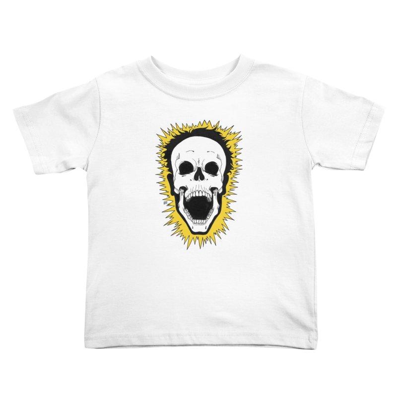 Jolt Kids Toddler T-Shirt by DEROSNEC's Art Shop