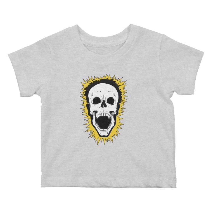 Jolt Kids Baby T-Shirt by DEROSNEC's Art Shop