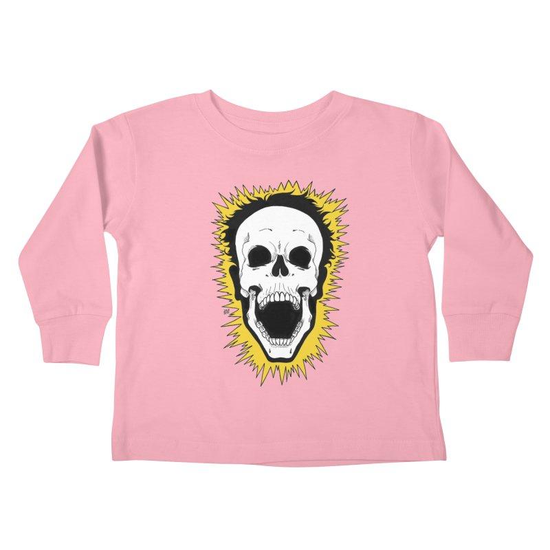 Jolt Kids Toddler Longsleeve T-Shirt by DEROSNEC's Art Shop