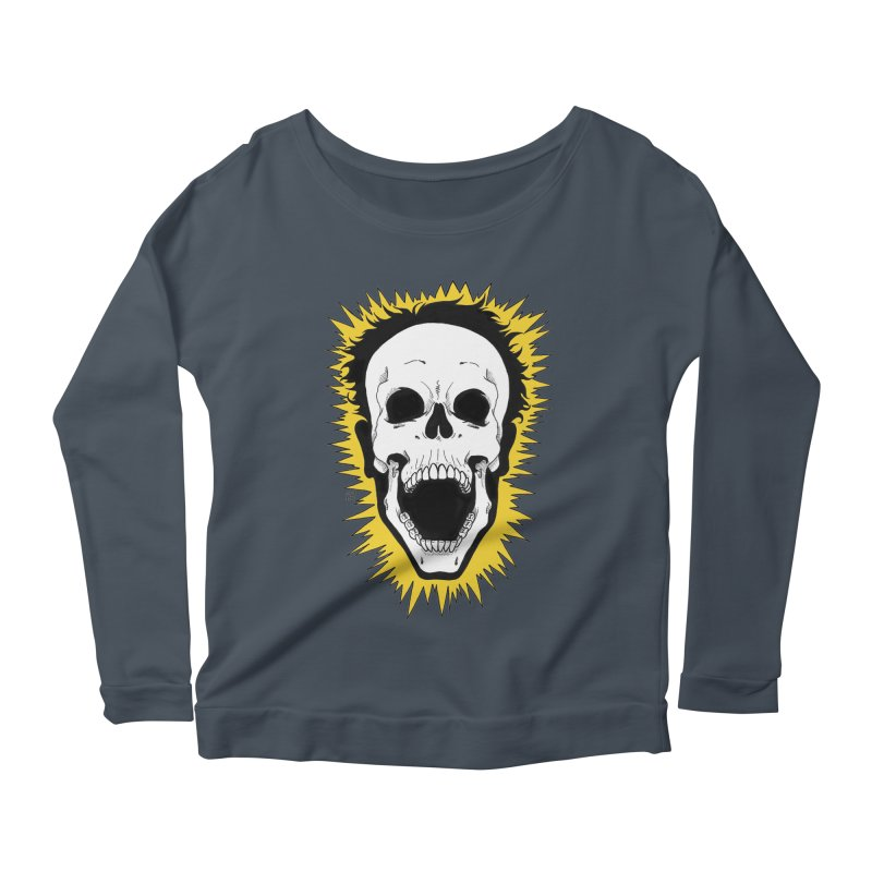 Jolt Women's Scoop Neck Longsleeve T-Shirt by DEROSNEC's Art Shop