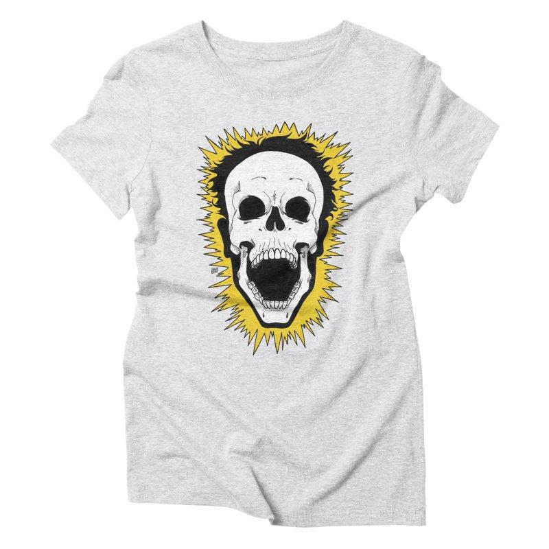 Jolt Women's Triblend T-Shirt by DEROSNEC's Art Shop