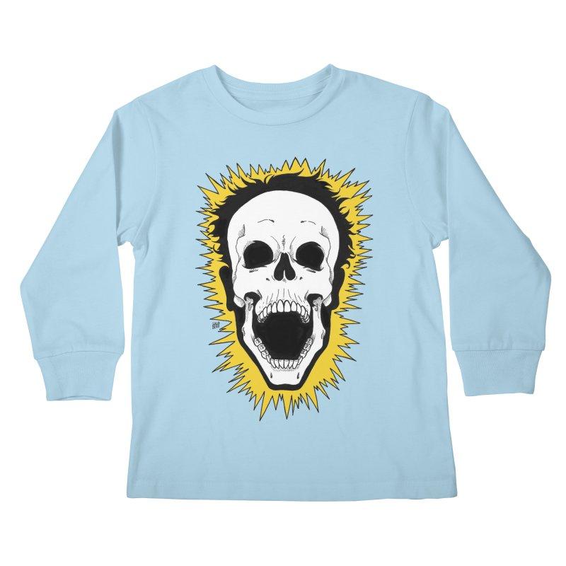 Jolt Kids Longsleeve T-Shirt by DEROSNEC's Art Shop