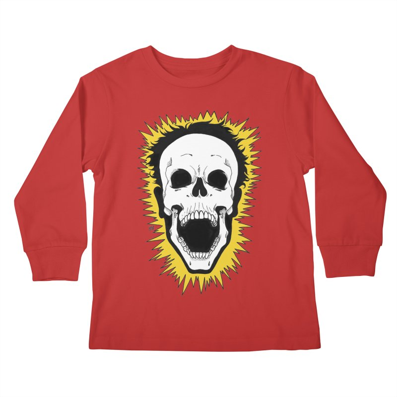 Jolt Kids Longsleeve T-Shirt by DEROSNEC's Art Shop