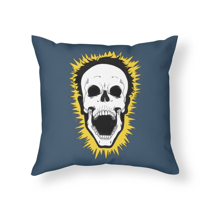 Jolt Home Throw Pillow by DEROSNEC's Art Shop