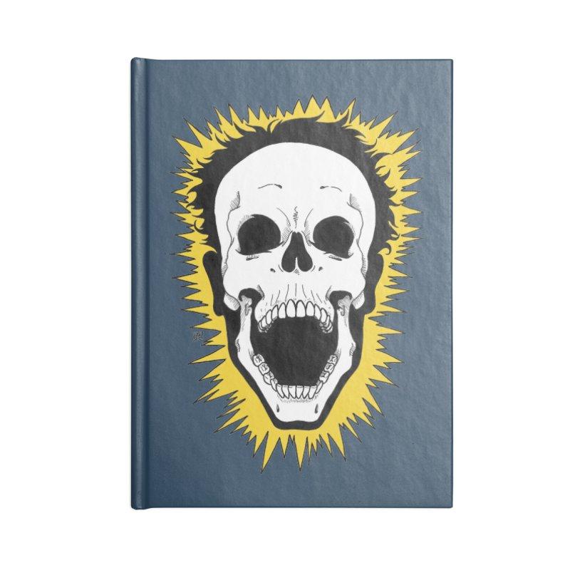 Jolt Accessories Lined Journal Notebook by DEROSNEC's Art Shop