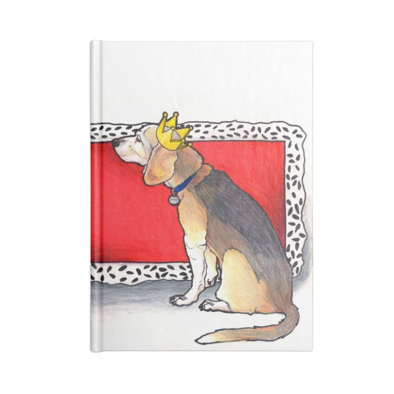 King of the Kennel Accessories Blank Journal Notebook by DEROSNEC's Art Shop