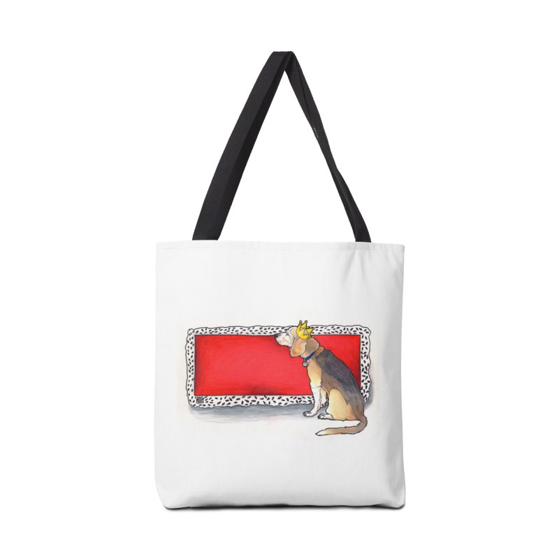King of the Kennel Accessories Tote Bag Bag by DEROSNEC's Art Shop