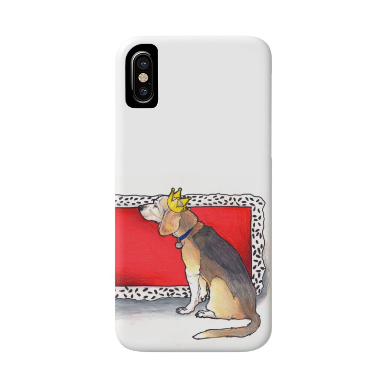 King of the Kennel Accessories Phone Case by DEROSNEC's Art Shop