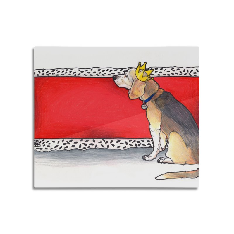 King of the Kennel Home Mounted Acrylic Print by DEROSNEC's Art Shop