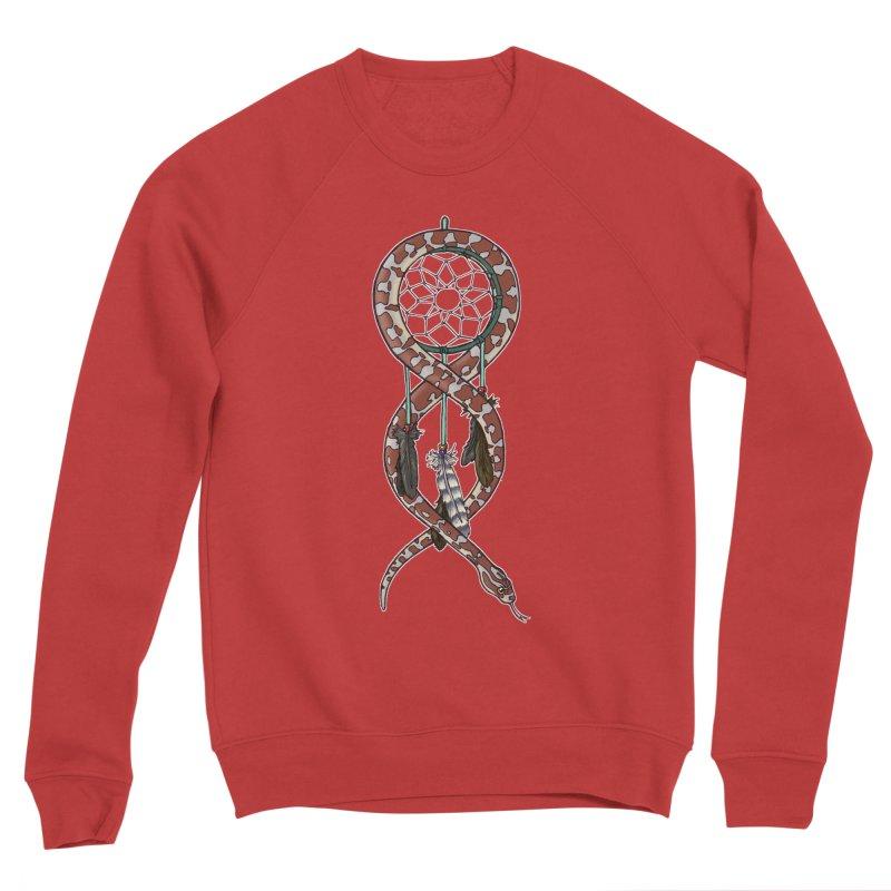 Dreamcatcher Snake Women's Sponge Fleece Sweatshirt by DEROSNEC's Art Shop
