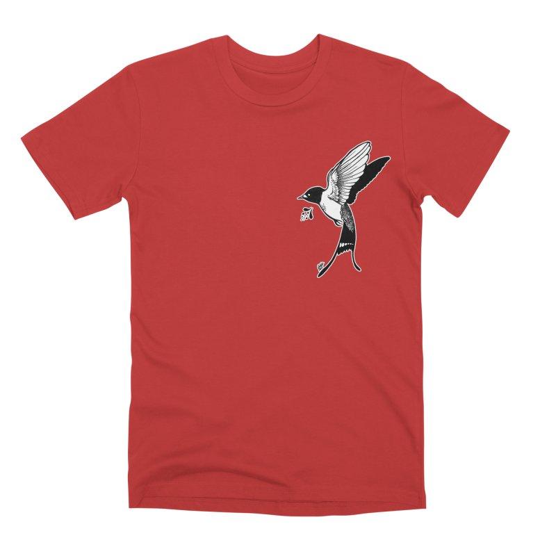 Swift Men's Premium T-Shirt by DEROSNEC's Art Shop