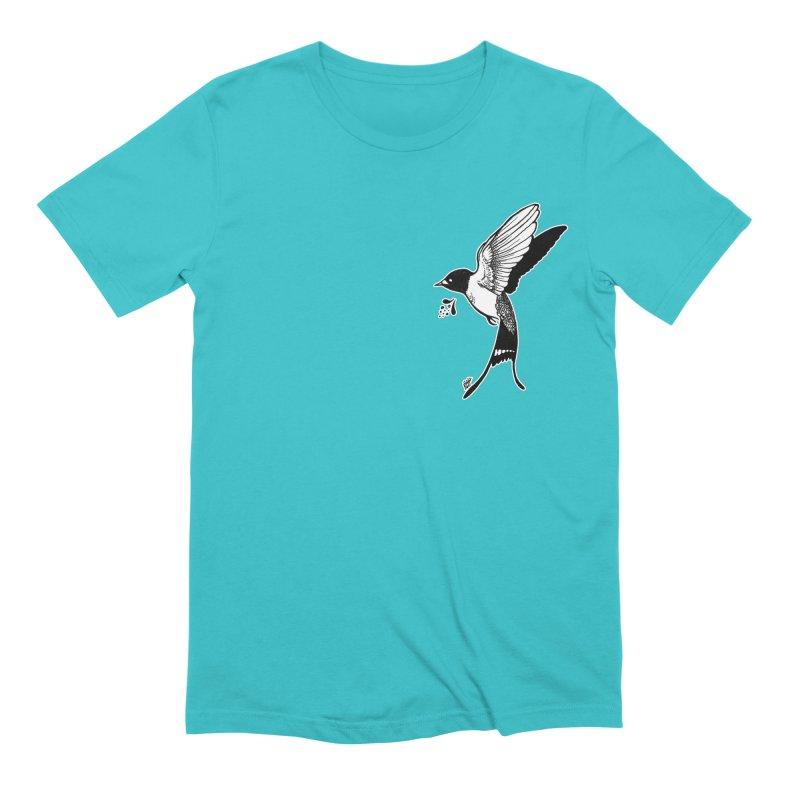 Swift Men's Extra Soft T-Shirt by DEROSNEC's Art Shop