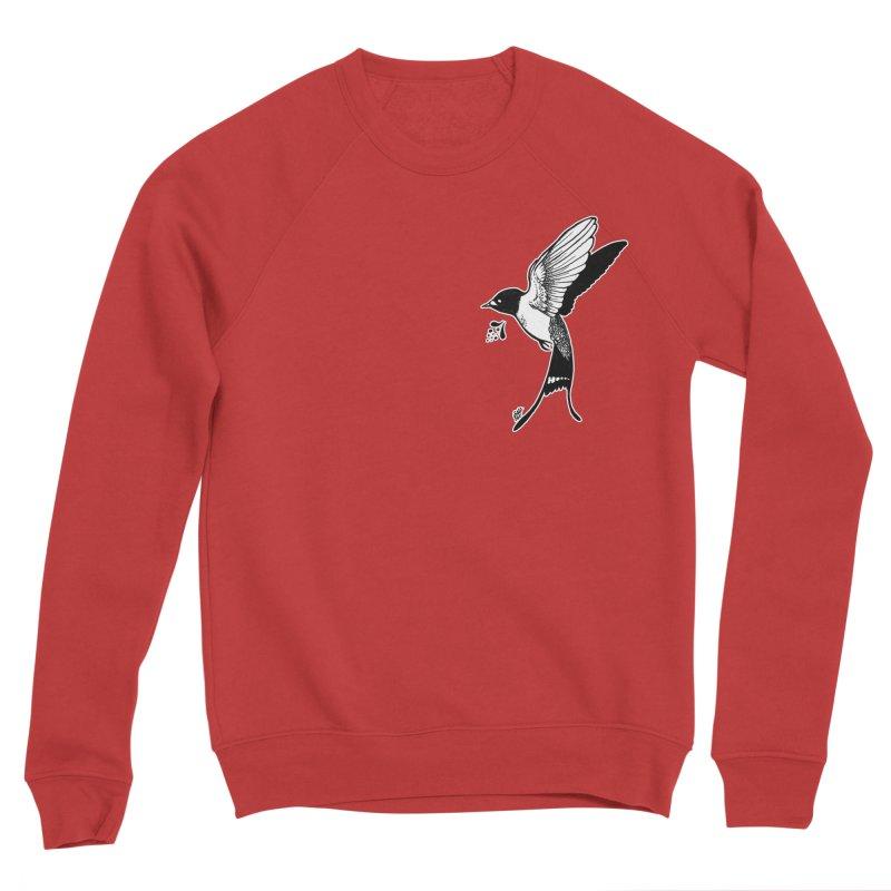 Swift Men's Sponge Fleece Sweatshirt by DEROSNEC's Art Shop