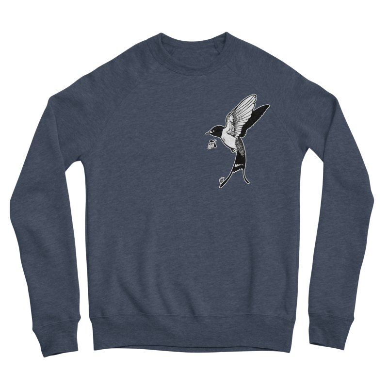 Swift Women's Sponge Fleece Sweatshirt by DEROSNEC's Art Shop