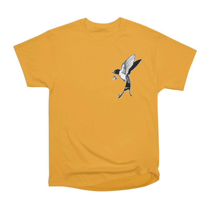 Swift Men's Heavyweight T-Shirt by DEROSNEC's Art Shop