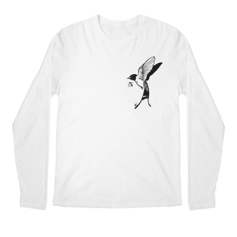 Swift Men's Regular Longsleeve T-Shirt by DEROSNEC's Art Shop