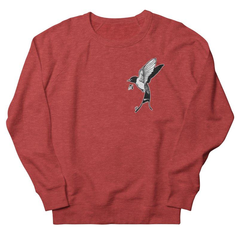 Swift Women's French Terry Sweatshirt by DEROSNEC's Art Shop