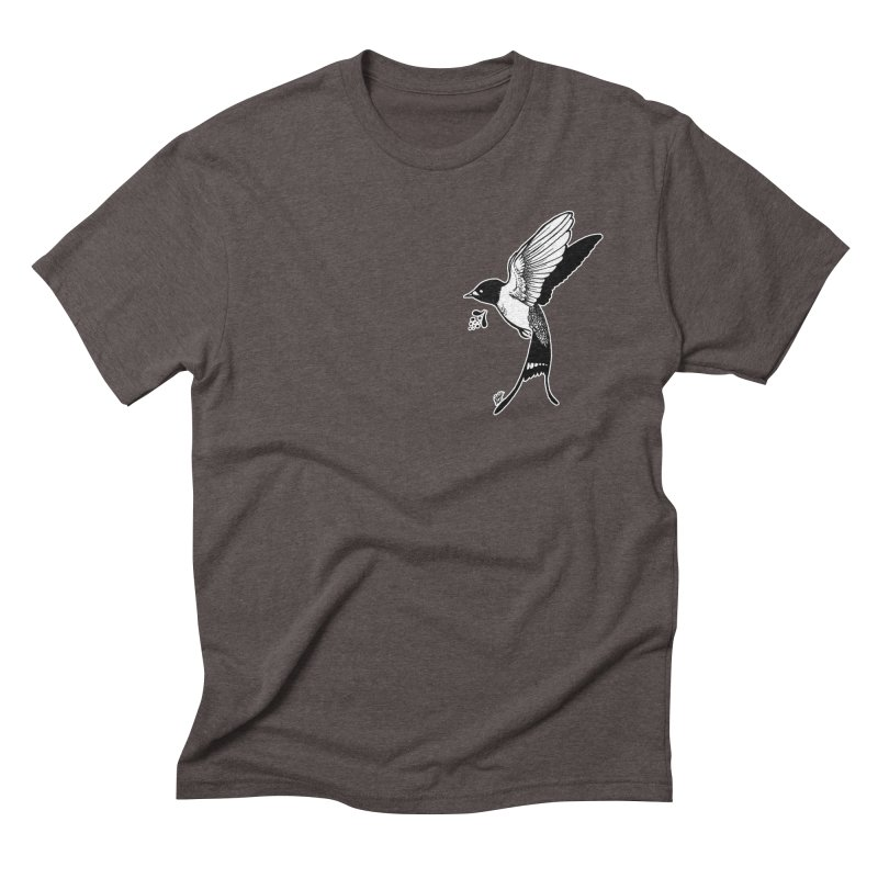 Swift Men's Triblend T-Shirt by DEROSNEC's Art Shop
