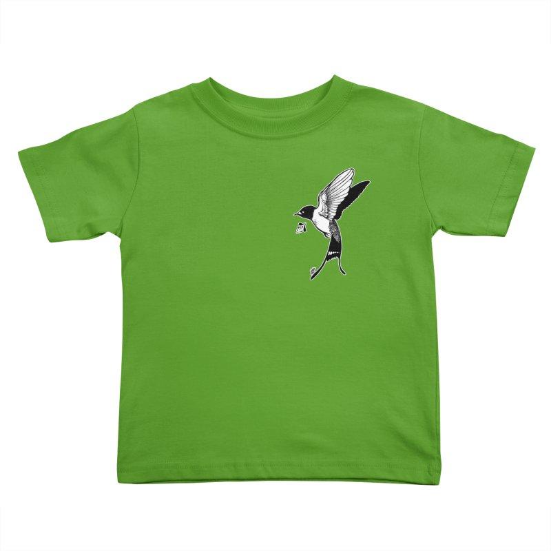 Swift Kids Toddler T-Shirt by DEROSNEC's Art Shop