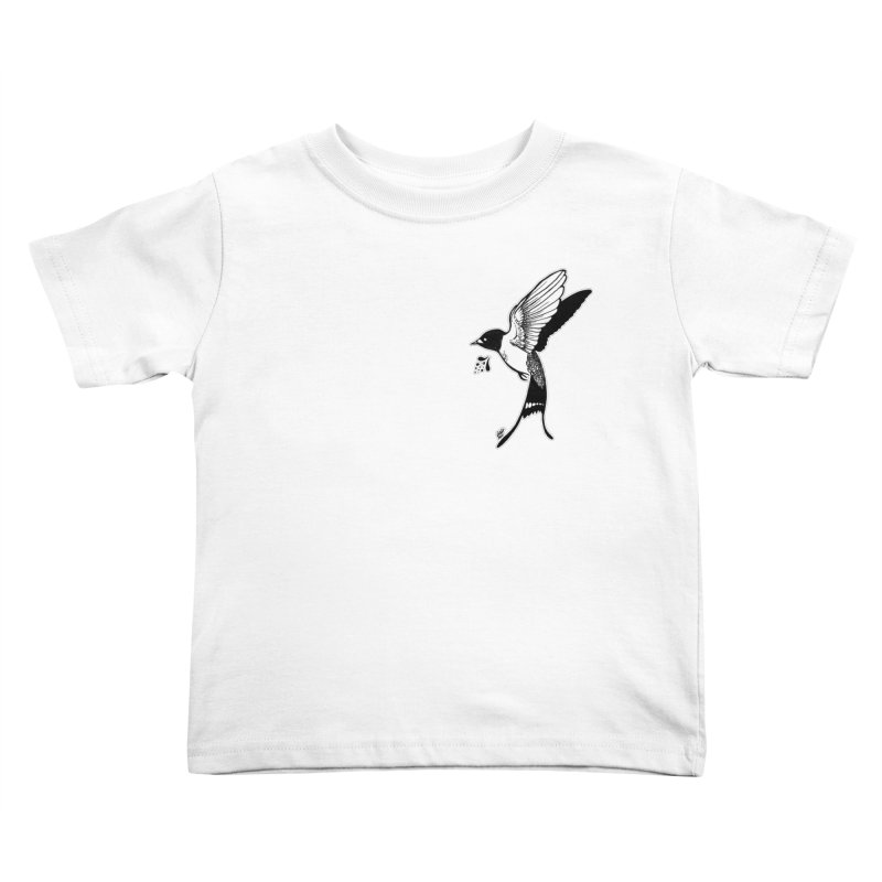 Swift Kids Toddler T-Shirt by DEROSNEC's Art Shop