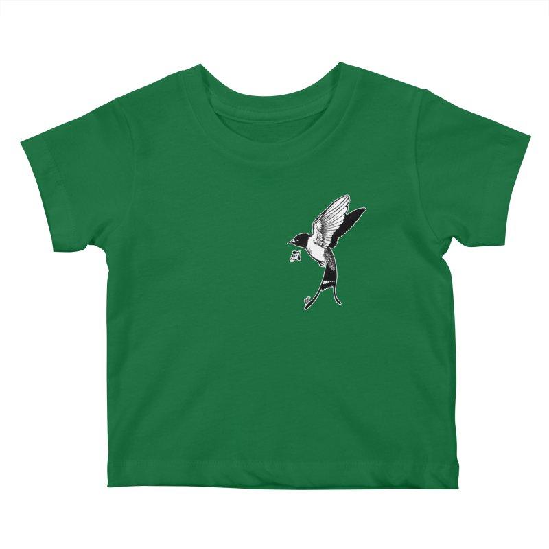 Swift Kids Baby T-Shirt by DEROSNEC's Art Shop