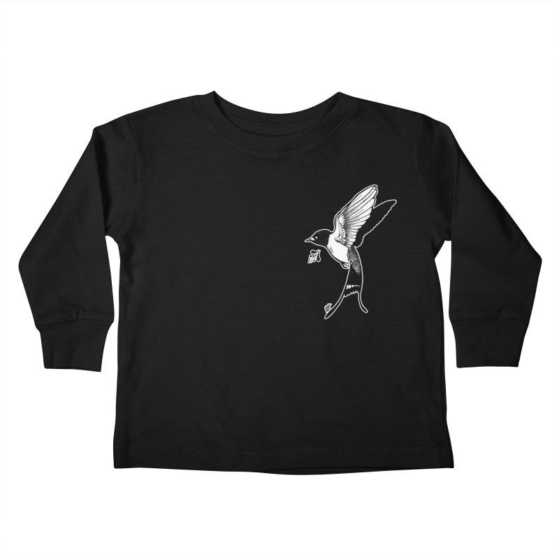 Swift Kids Toddler Longsleeve T-Shirt by DEROSNEC's Art Shop
