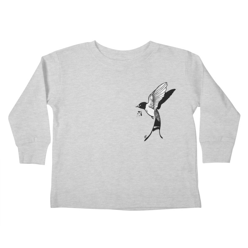 Swift Kids Toddler Longsleeve T-Shirt by DEROSNEC's Art Shop