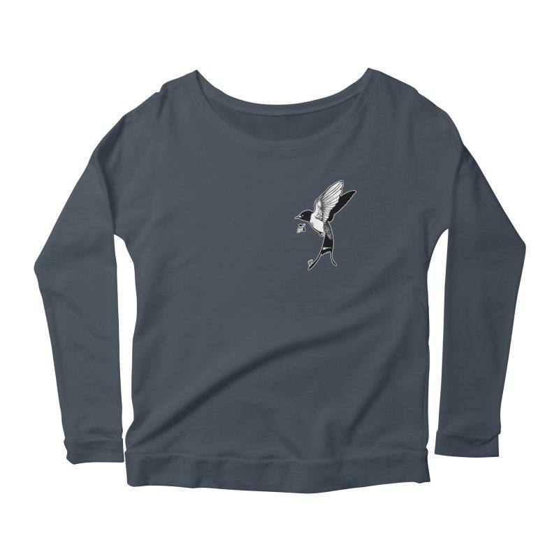 Swift Women's Scoop Neck Longsleeve T-Shirt by DEROSNEC's Art Shop