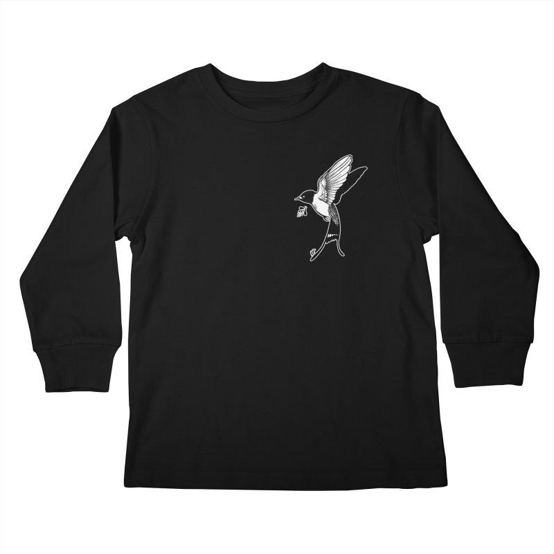 Swift Kids Longsleeve T-Shirt by DEROSNEC's Art Shop