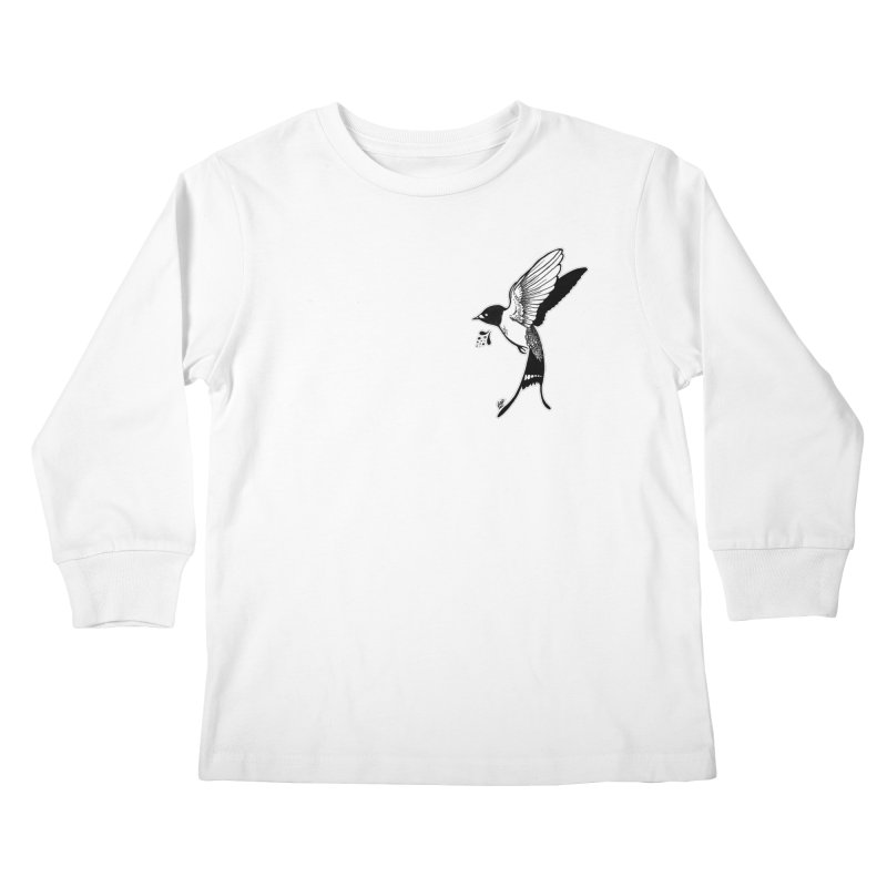 Swift Kids Longsleeve T-Shirt by DEROSNEC's Art Shop