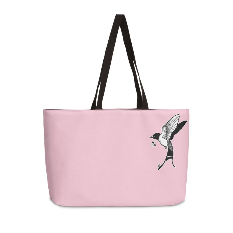 Swift Accessories Weekender Bag Bag by DEROSNEC's Art Shop