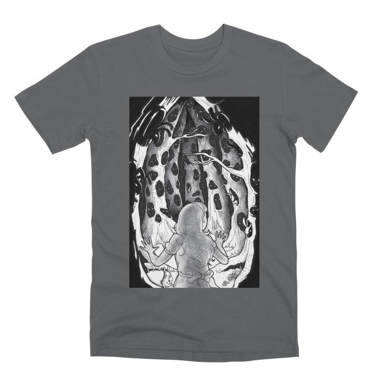 Teeming Men's Premium T-Shirt by DEROSNEC's Art Shop