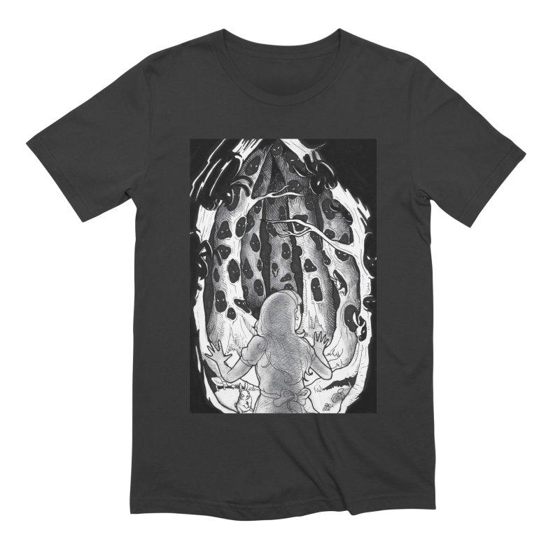 Teeming Men's Extra Soft T-Shirt by DEROSNEC's Art Shop