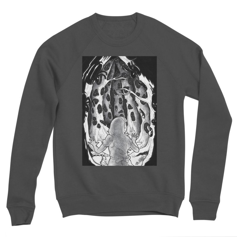 Teeming Women's Sponge Fleece Sweatshirt by DEROSNEC's Art Shop