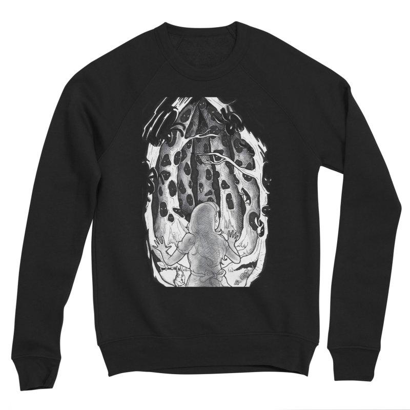 Teeming Men's Sponge Fleece Sweatshirt by DEROSNEC's Art Shop